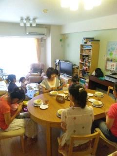 7月のキッチン